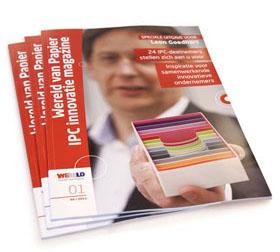innovatie magazine wereld van papier